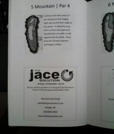 Golf Outing Booklet